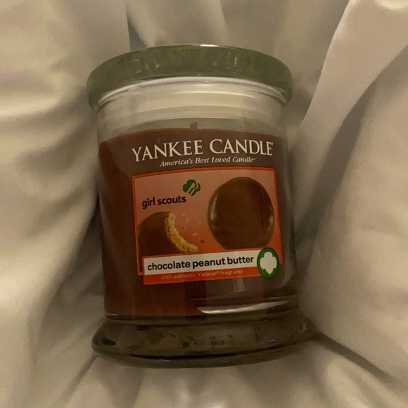 Yankee candle GS Chocolate Peanutbutter Candle